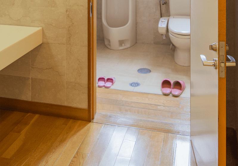 バリアフリー対応トイレ
